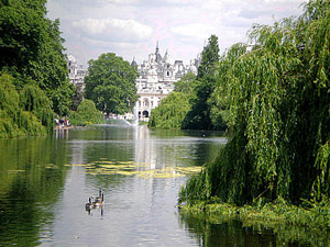 St James's Park and Green Park