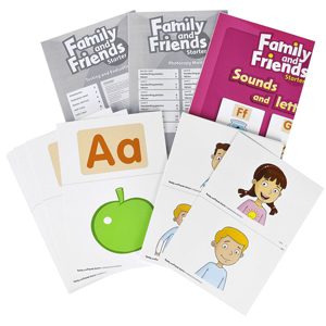 family and friends starter flashcards скачать