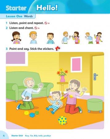 Family and Friends. Starter. Class Book / Семья и Друзья. Учебник для начинающих. Naomi Simmons