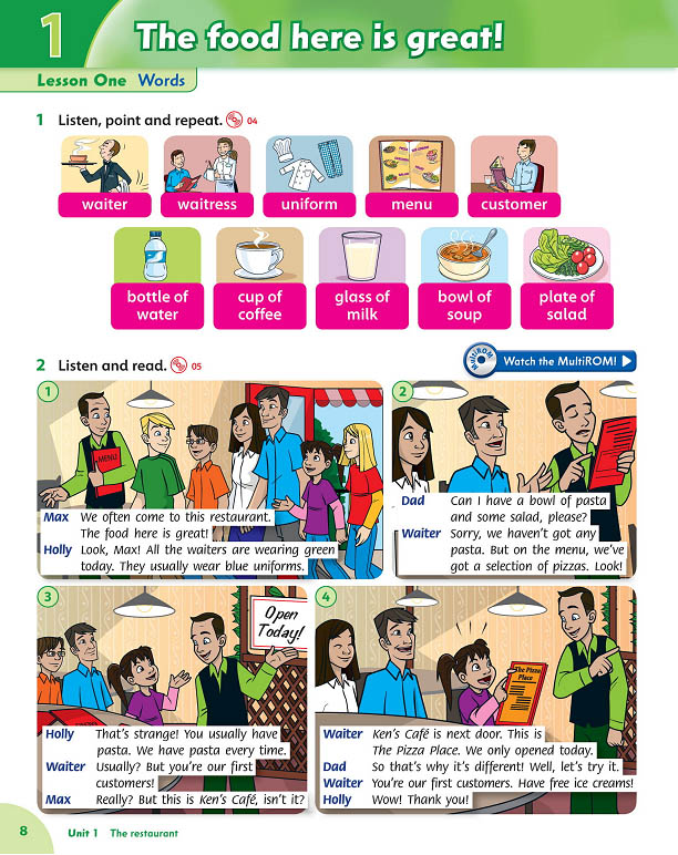 Family and friends 4 second edition class book with multirom.