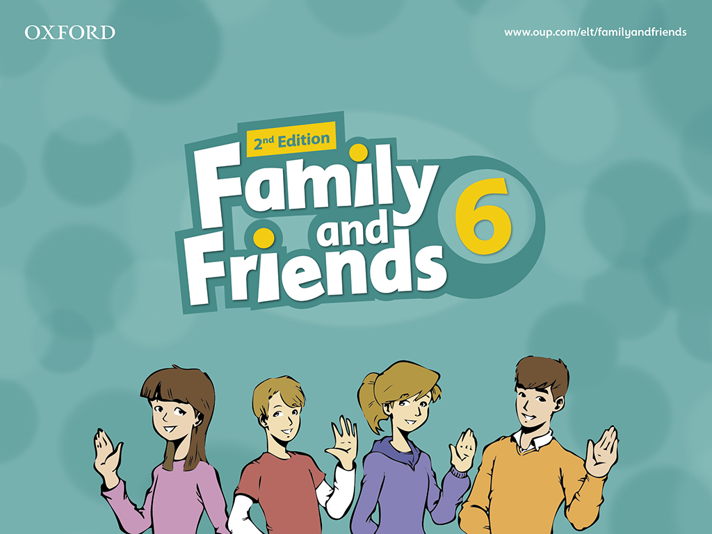 family and friends гдз для