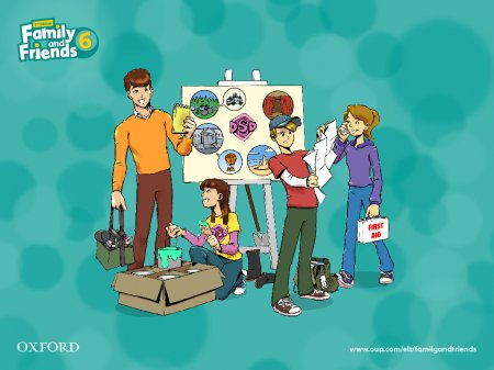 Family and Friends 6. Downloadables / Семья и Друзья 6. Раздаточный материал