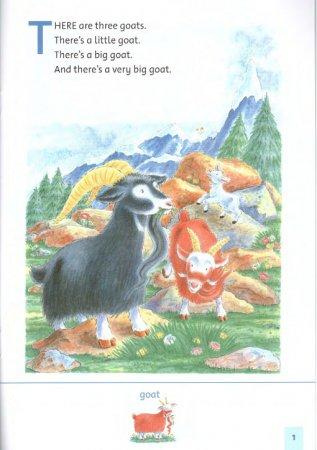 Family and Friends 1: Three Billy Goats. Reader / Семья и друзья 1. Три козленочка. Книга для чтения. Sue Arengo